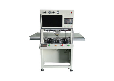 610DH COF IC Bonding Machine , LCD Flex Cable Repair Machine Titanium Alloy Head
